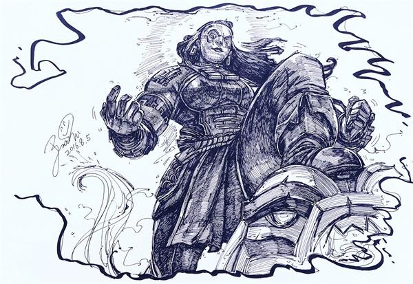 LOL:拳头设计师聊海兽祭司俄洛伊制作过程,表示以后将会把重心放在冷门英雄重做上。