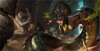 LOL魔蛇之拥卡西奥佩娅中单玩法_S8蛇女符文天赋出装加点版本解析玩法攻略