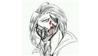 王者荣耀兰陵王摘下面具的样子图片,兰陵王花木兰漫画