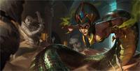 LOL季前赛胜率第一中单魔蛇之拥卡西奥佩娅_S9蛇女符文天赋出装技能加点玩法攻略