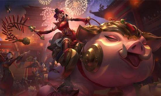 LOL新年皮肤曝光:猪妹可爱爆表,红衣薇恩喜气洋洋!