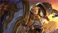 王者荣耀元老级英雄亚瑟回归,看老战士最新打法!