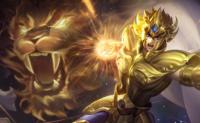 王者荣耀:达摩新皮肤黄金狮子座即将上线,S14达摩铭文出装玩法攻略