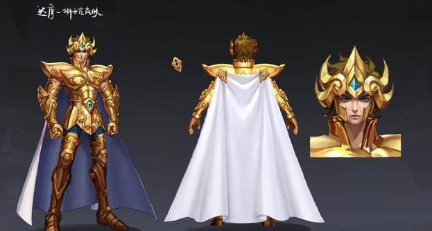 王者荣耀达摩黄金狮子座皮肤特效曝光!S15段位继承一览!