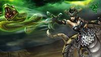 LOL魔蛇之拥卡西奥佩娅s9.7中单_蛇女中路出装天赋玩法攻略