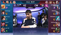 王者荣耀KRKPL:星辰夏侯惇首秀,KZ3:0轻松取胜CW!