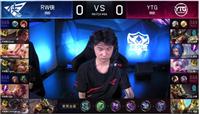 王者荣耀KPL:YTG3:1强势击败RW侠,晴一累计获得十五次全场最佳!