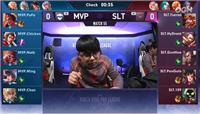 王者荣耀KRKPL SLT新人上场 3:2战胜MVP终结连败