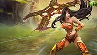LOLs9.10战争女神加强 希维尔出装符文玩法攻略