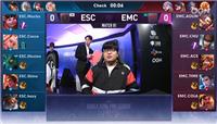KRKPL春季赛EMC零封ESC AOLIN化身砍王