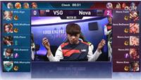 王者荣耀KRKPL最短时长纪录9分24秒 Nova闪电战零封VSG