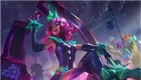 英雄联盟新英雄奇亚娜皮肤发布 直接加入电玩系列 没想到还有至臻女警抢风头