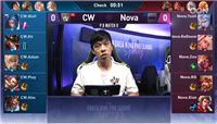 王者荣耀KRKPL季后赛 CW惨遭Nova战队零封