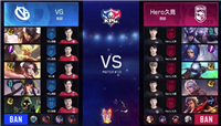 王者荣耀KPL秋季赛:Hero新阵容状态极佳 3:0战胜VG拿下两连胜