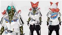 和平精英猎杀小队时装怎么样?猎狐青兔时装模型一览