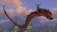 魔兽世界8.3邮件吞噬者稀有坐骑获取方式介绍