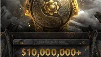 DOTA2:TI10总奖金超1000万美元 增长速度再破记录