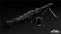 绝地求生全新轻机枪武器MG3介绍