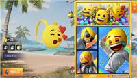和平精英emoji联动表情背包头套是限定吗?