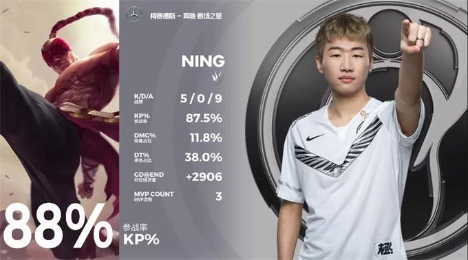IG官宣Ning暂时休战 新赛季由Xun首发打野