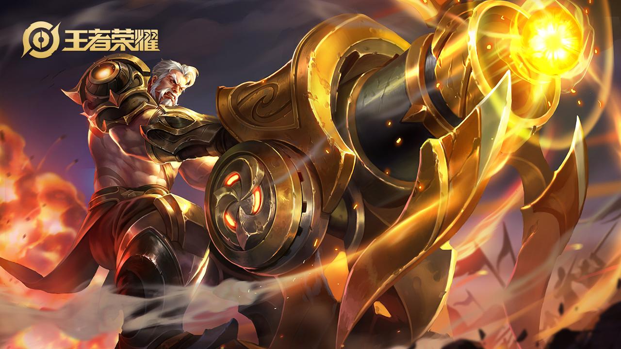王者荣耀体验服黄忠调整为射坦,他的实战小技巧