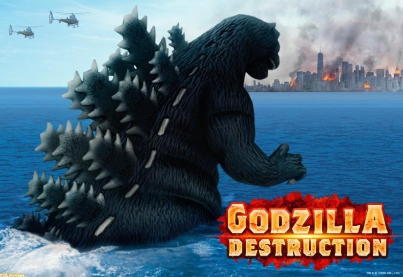 《哥斯拉DESTRUCTION》4月27日全球上线
