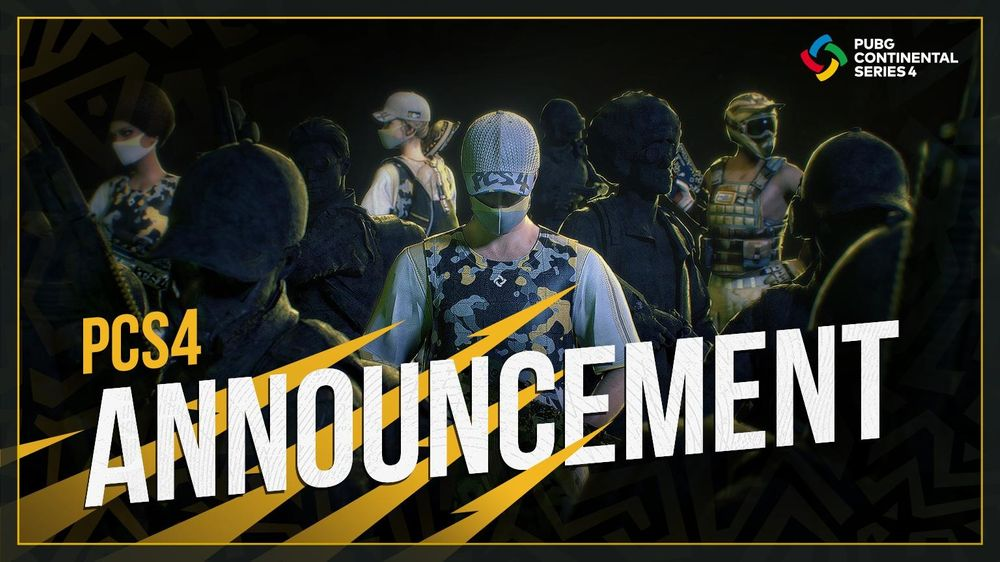 《绝地求生》2021 PCS4洲际赛6月12日开战 公开赛制资讯