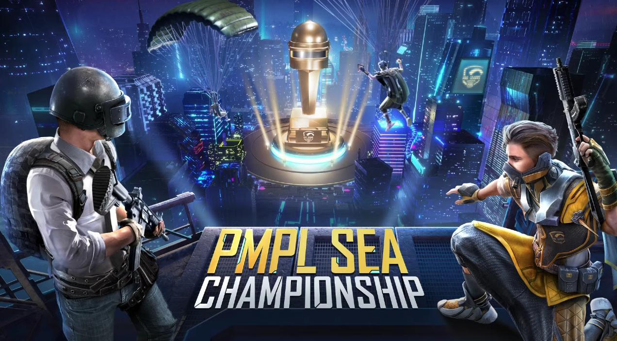 《PUBGM》绝地求生手游版东南亚职业联赛PMPL第三季再写收视纪录,突破百万人同时收看