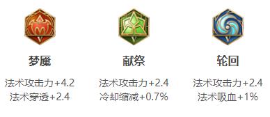 王者荣耀米莱狄S14五级铭文搭配