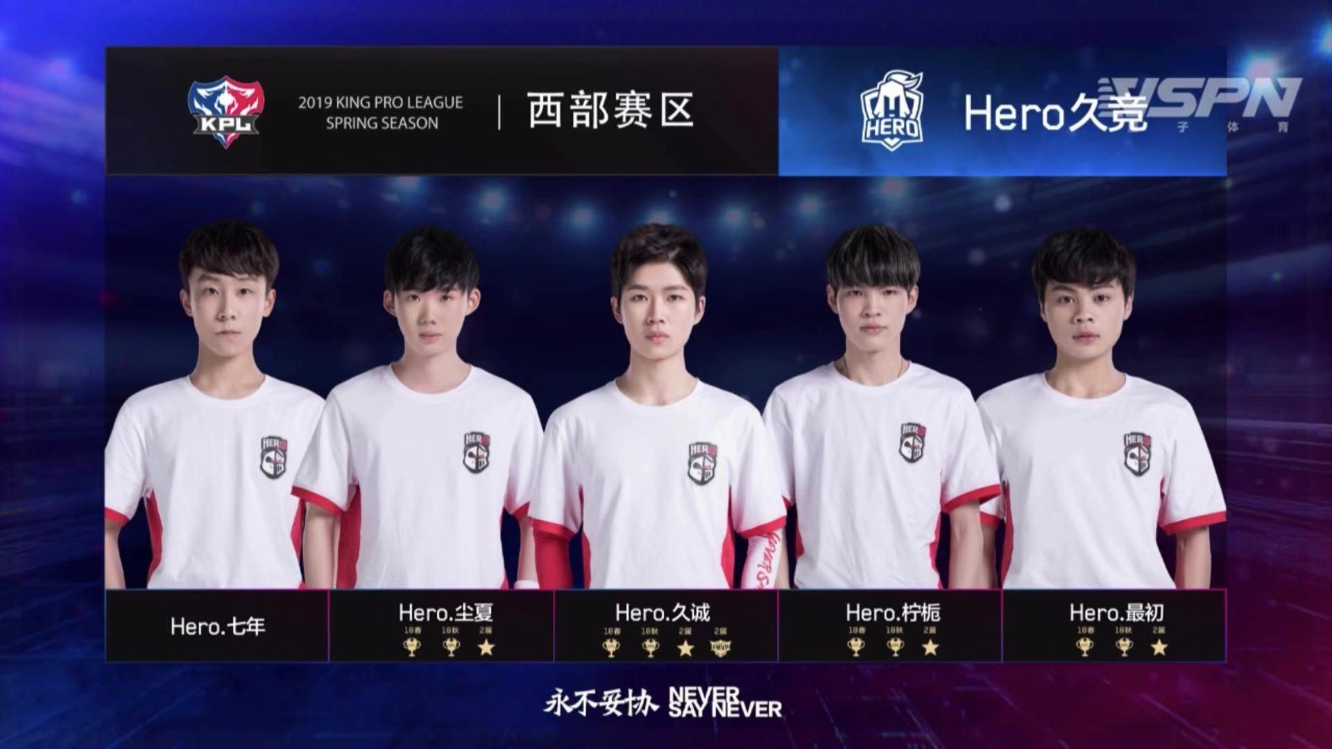 王者荣耀KPL揭幕战Hero更胜一筹,让一追三拿下春季赛首胜!