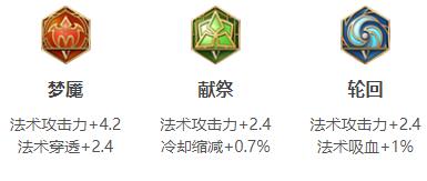 王者荣耀S14姜子牙五级铭文搭配
