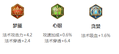 王者荣耀S14小乔铭文搭配