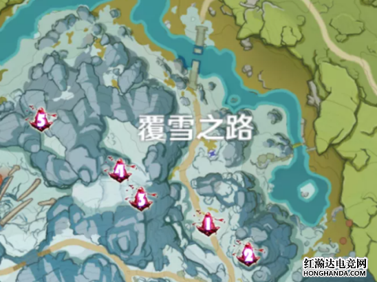 原神绯红玉髓怎么找?龙脊雪山绯红玉髓位置介绍